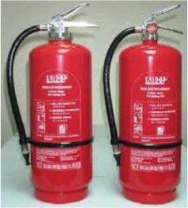 Extintores de incendios